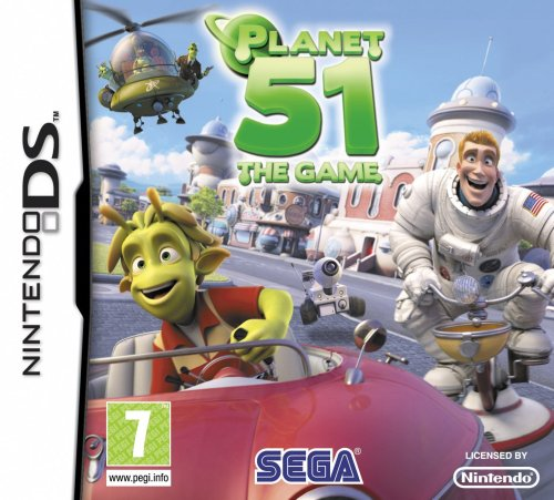 Planet 51 The Game (Nintendo DS)