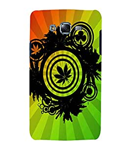 printtech Weed Leaf Design Abstract Back Case Cover for Samsung Galaxy A3 / Samsung Galaxy A3 A300F