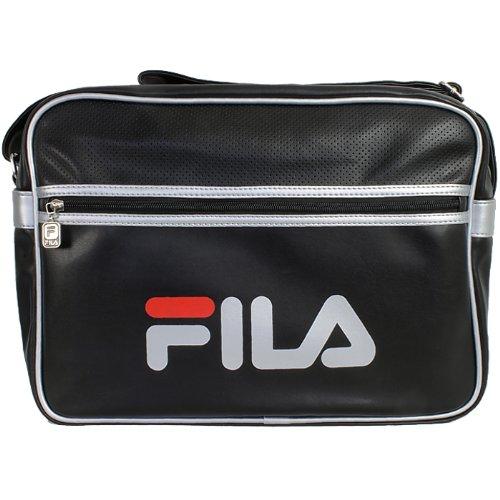 fila-docena-large-xs13esu027-messenger-bag-schultertasche-schwarz-silber