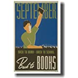 Historic Reading Posters - September Back to Books