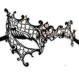Fashion Laser Cut Rhinestone metal veneciana de Cosplay Fiesta Masquerade Máscara