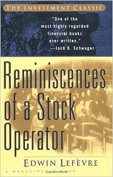 edwin lefevre reminiscences of a stock operator pdf