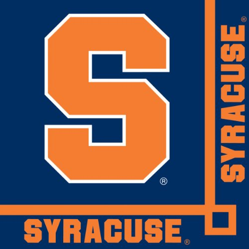 Creative Converting Syracuse Orange Beverage Napkins (20 Count) - 1