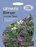 Unwins Pictorial Packet - Borage Summer Skies - 120 Seeds