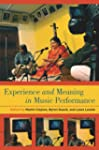 Experience and Meaning in Music Perfo...