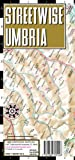 Streetwise Umbria Map - Laminated Road Map of Umbria, Italy - Folding pocket size travel map