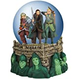 Westland Giftware Light-Up Water Globe Figurine, 100mm, Lord of The Rings The Battle