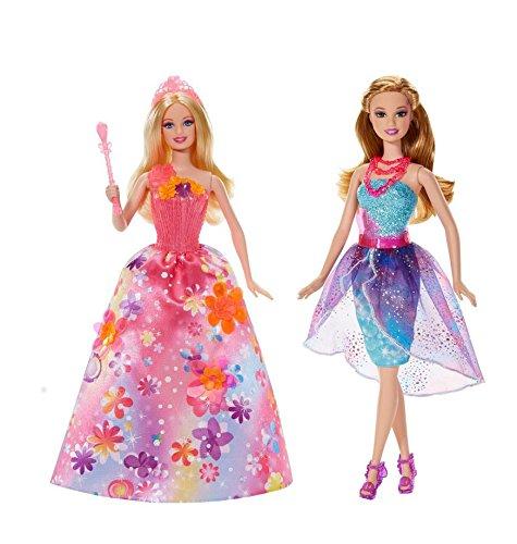 Barbie und die geheime Tür - Prinzessin Alexa mit Musik CCF84 + Freundin blond BLP30 (EAN9009588009345)