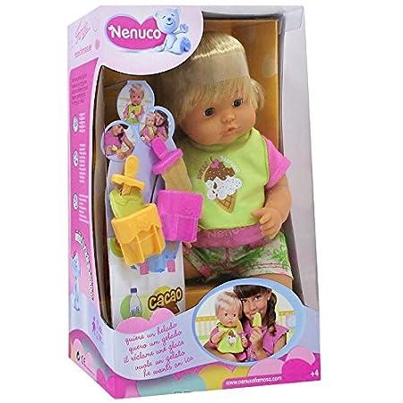 Nenuco - 700007307 - Poupée - Garçon à Cheveux + Accessoire - 42 cm