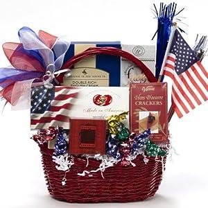 ... Gift Baskets America the Beautiful Patriotic Basket Wedding Gifts