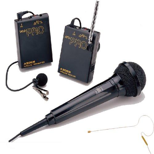 Azden Wmspro/630 Wireless Microphone System For Camera & Camcorder
