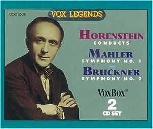 MAHLER/BRUCKNER:Mahler Sym. No. 1, Bruckner Sym. No. 9 (Original version)