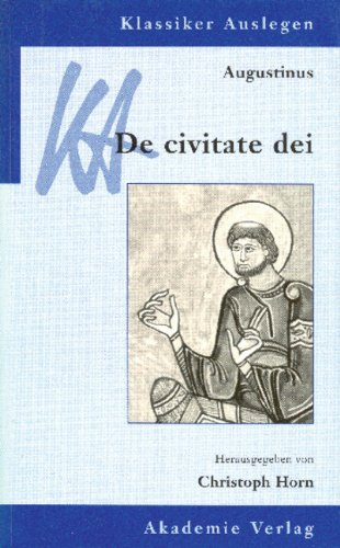Augustinus: De civitate dei