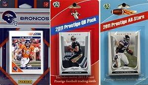 NFL Denver Broncos Licensed 2011 Score Team Set with Twelve Card 2011 Prestige... by C&I Collectables