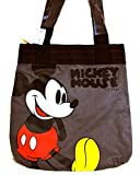 Disney Mickey Mouse Tote Bag,canvas,screen Art Front (Gray)
