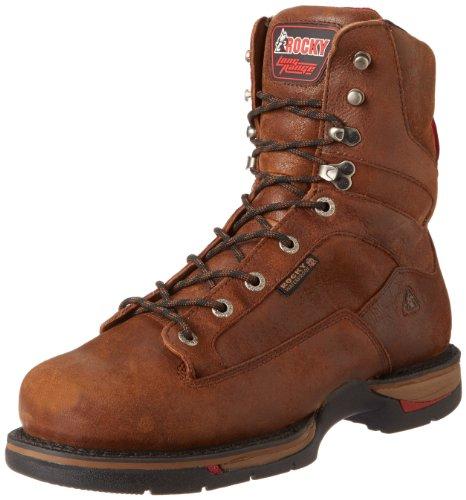 Rocky Men'S Long Range Eight Inch St Work Boot,Oak,8 M Us