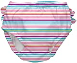 i play. Baby-Girls Infant Ultimate Snap Ruffle Swim Diaper-M&M, Multi, 18-24 Months