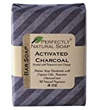 Activated Charcoal All Natural Handmade Bar Soap, 4 Oz.