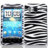 White / Black Zebra Strips Snap on Hard Skin Shell Protector Cover Case for ....