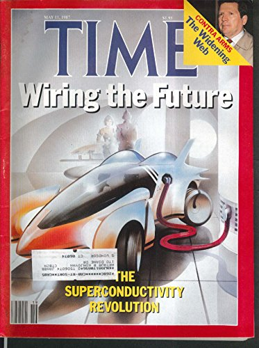 Time Electric Cars Iran-Contra Oliver North Aids Elie Wiesel 5/11 1987