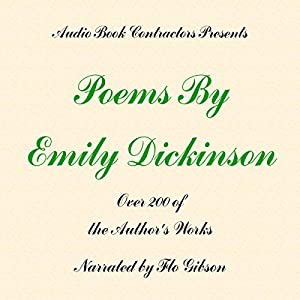 Poems By Emily Dickinson Audiobook