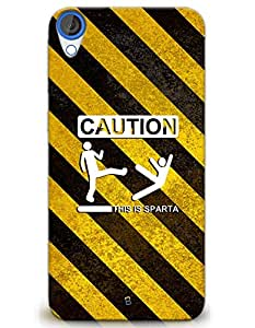 Caution - This Is Sparta case for HTC Desire 820s