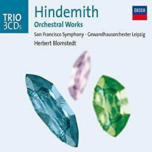 Hindemith Orchestral Works by Import Music Services