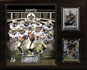 NFL New Orleans Saints 2012 Team Plaque by C&I Collectables