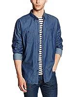 Cross Camisa Hombre (Azul)