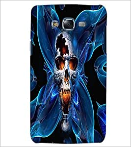 PrintDhaba Skull D-2684 Back Case Cover for SAMSUNG GALAXY ON 7 (Multi-Coloured)