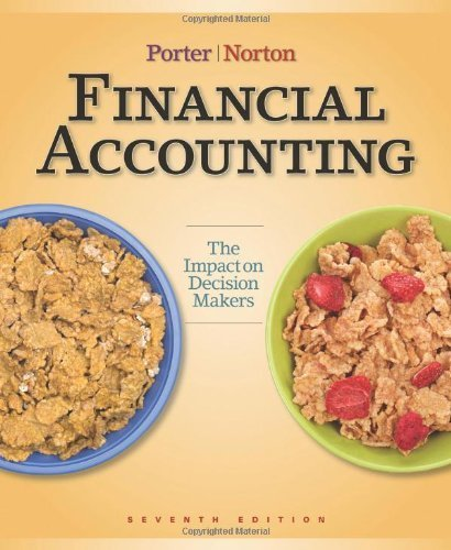 Financial Accounting: The Impact on Decision Makers, Seventh Edition [Hardcover]