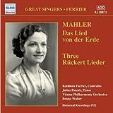 Mahler: Das Lied von der Erde, Ruckert Lieder