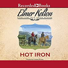 Hot Iron (       UNABRIDGED) by Elmer Kelton Narrated by Graham Winton