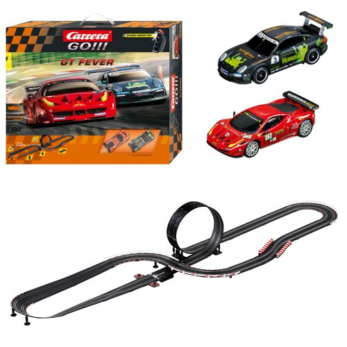 carrera gt fever race set toys games toys play vehicles. Black Bedroom Furniture Sets. Home Design Ideas