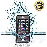 #1 Best iPhone 6 Plus Waterproof Case (Black), Protective & Shockproof Phone Cases or Your Money Back! Free Bonus...