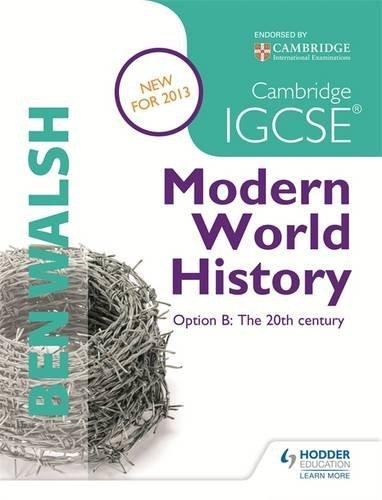 Cambridge IGCSE Modern World History (History In Focus)