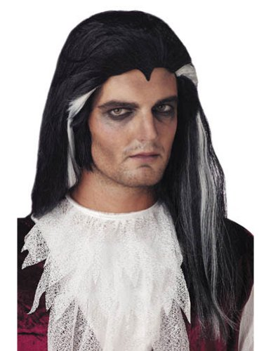 Costume-Wig 18 Inch Long Vampire Halloween Costume - 1 size