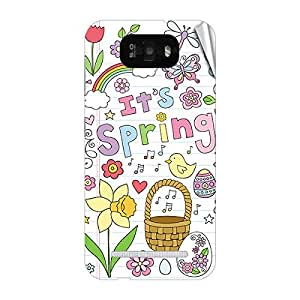 Garmor Designer Mobile Skin Sticker For Gionee C610 - Mobile Sticker