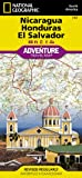 Nicaragua, Honduras, and El Salvador: National Geographic: Adventure Map (National Geographic: Adventure Map (3109))