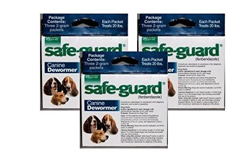 Safeguard Dog Dewormer (Pack of 3)