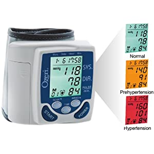 Ozeri CardioTech Premium Series Digital Blood Pressure Monitor Reviews