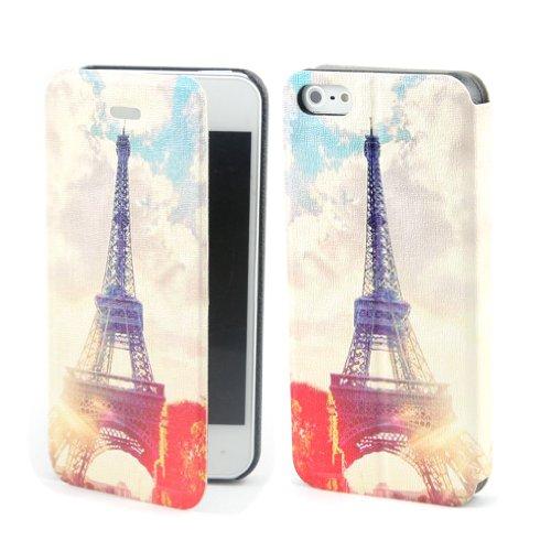 B73 Flip Leder Tasche Flip Case Cover Hülle Schale Für Apple iPhone 5 5TH 5G 5S GEN