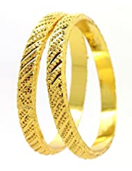 Be You Micron Gold Plated Bangles Set