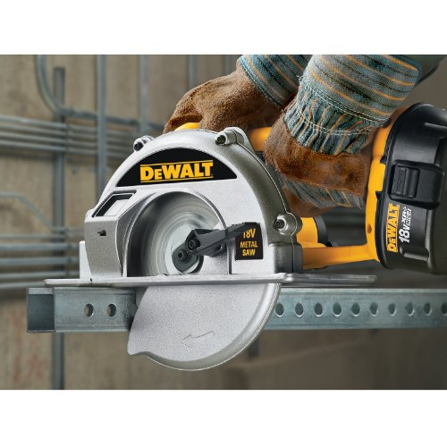 DEWALT DW934K-2  6-3/4-Inch 18-Volt Cordless Metal Cutting Circular Saw Kit