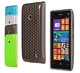 Bralexx Coque de protection pour Samsung Galaxy S5 G900F / HTC One M8 / Sony Xperia Z2 / Sony Xperia Z1 Effet diamants, Nokia Lumia 520, Ensemble