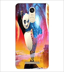 Printdhaba Kung-Fu Panda D-3447 Back Case Cover For Xiaomi Redmi Note 3