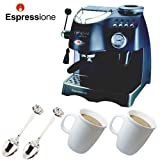 Espressione 1329 Cafe Roma Deluxe Espresso Machine with Two Bodum Copenhage ....
