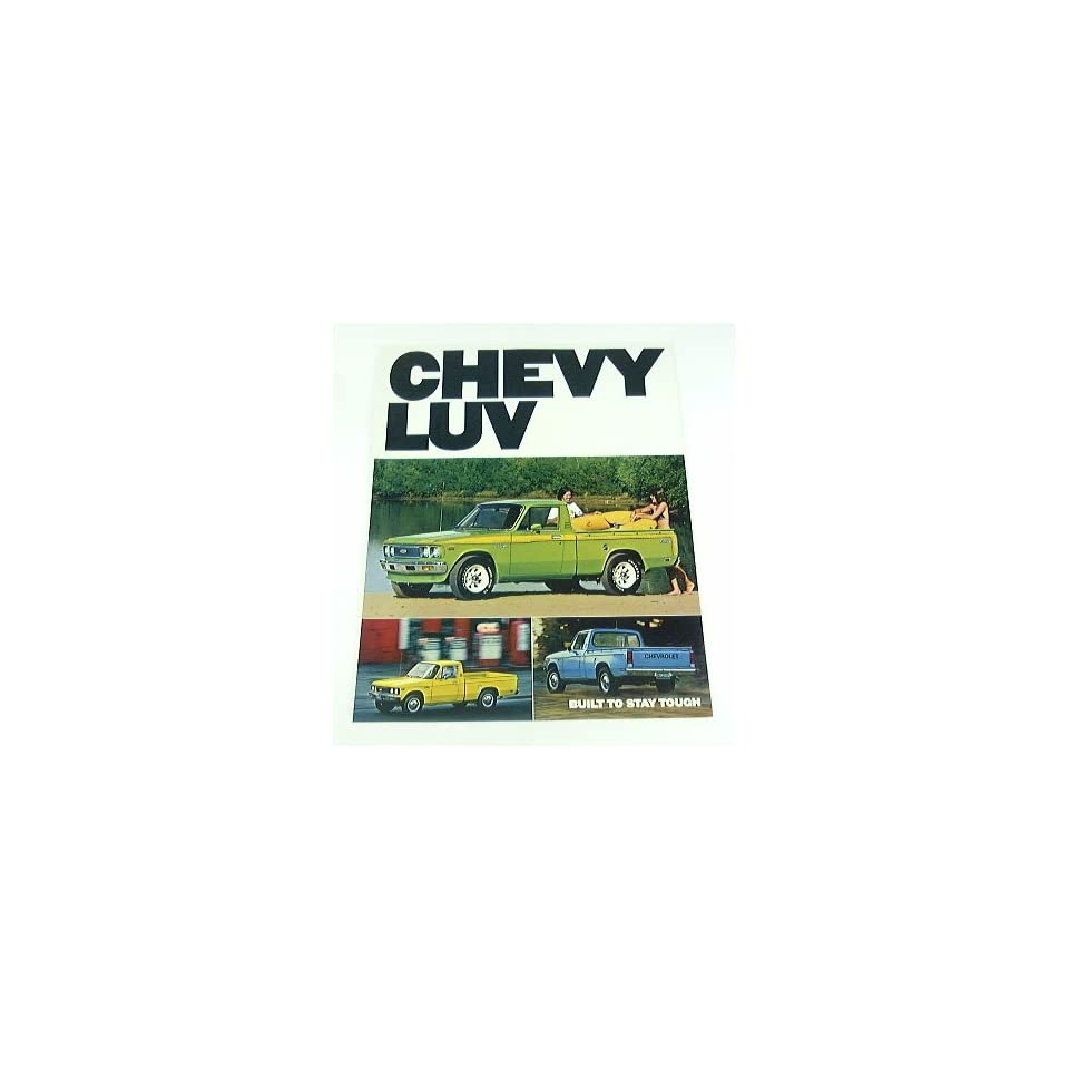 1977 77 Chevrolet Chevy LUV Pickup Truck BROCHURE