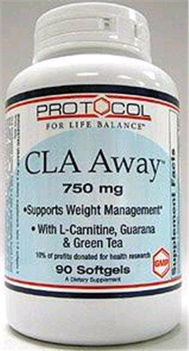 Protocole - gels de mg 90 CLA Away 750 [Health