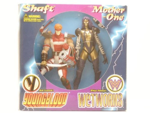 Mcfarlane Toys Collectors Gift Set Limited Edition - Collector's Gift Set - Mother-One (Wetworks) & Shaft (Youngblood) Action Figures - 1